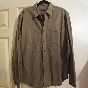 J Crew heavy cotton button down shirt